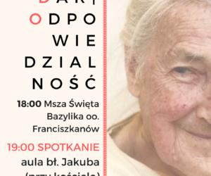 Spotkanie z dr Wandą Półtawską